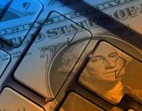 Internet-Bankverkehr Lizenzfreie Stockfotos