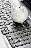 Internet-bankwezen Royalty-vrije Stock Afbeeldingen