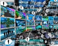 Internet-beelden vector illustratie
