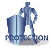 Internet-Bescherming Stock Foto