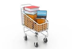 Internet-Bibliothek stock abbildung