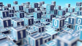 Internet Big Data Management Concept stock illustration