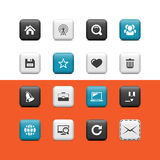 Internet and blog buttons Royalty Free Stock Images