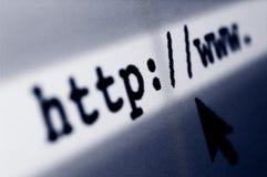 Internet-Brandung Lizenzfreies Stockbild