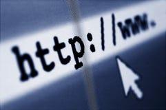 Internet-Brandung Lizenzfreie Stockfotos