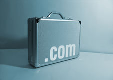 Internet Briefcase Royalty Free Stock Image