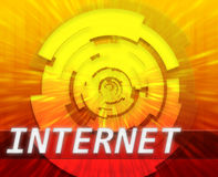 Internet broadband data technology Royalty Free Stock Photography