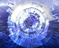 Internet broadband data technology Royalty Free Stock Image