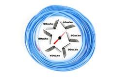 Internet Broadband Speed Stock Photo