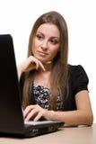 Internet browsing Royalty Free Stock Photo