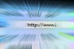 Internet browsing speed Royalty Free Stock Photo