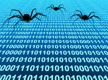 Internet bugs Stock Photos
