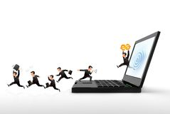 Internet business Stock Images