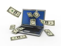 Internet business Stock Image