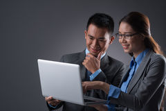 Internet in business Stock Images