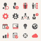 Internet Business. Icon set Royalty Free Stock Photo