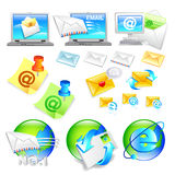 Internet business Icon sets. Creative Icon Design Series. Royalty Free Stock Photography