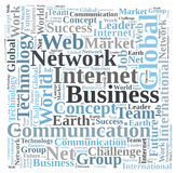 Internet business Royalty Free Stock Photo