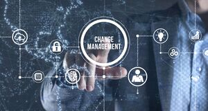 Free Internet, Business, Technology And Network Concept. CHANGE MANAGEMENT, Business Concept Stock Image - 214823891