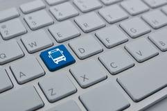 Internet business transportation service concept Stock Photo