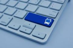 Internet business transportation service concept Stock Image