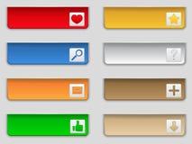 Internet Button Stock Image