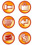 Internet Button Stock Photography