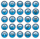 Internet buttons Royalty Free Stock Image