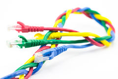 Internet cable Stock Photography