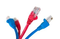 Internet cables Stock Photography