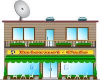 Internet-café. Foto de Stock