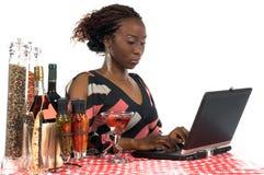 Internet Cafe stock photos