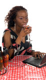 Internet Cafe royalty free stock photos