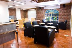 Internet cafe bar Royalty Free Stock Images