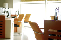 Internet cafe business service area Stock Photography