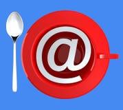 Internet Cafe Icon Royalty Free Stock Image
