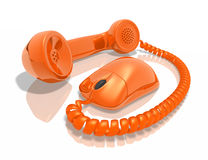 Internet Call Stock Image