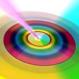 Internet CD del Rainbow di DVD royalty illustrazione gratis