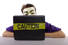 Internet censorship Stock Photography