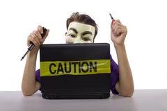 Internet censorship Royalty Free Stock Photography