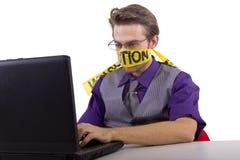 Internet censorship Stock Photo