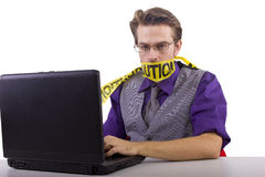 Internet censorship Stock Photo