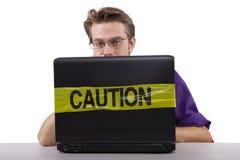 Internet censorship Stock Image