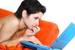 Internet chat Stock Image