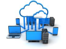 Internet cloud, concept Royalty Free Stock Image