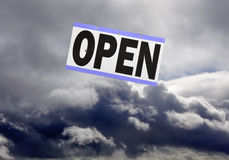 Internet cloud, internet buzzword Royalty Free Stock Photo