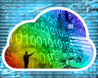 Internet cloud Royalty Free Stock Images