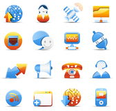 Internet and communicaiton icons Stock Photo