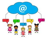 Internet communication Royalty Free Stock Photography