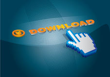 Internet communication concept Royalty Free Stock Images